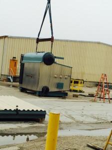 Cleaver Brooks CBND Industrial Boiler