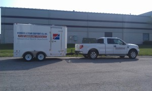 Hydronic & Steam Mobile Product Trailer