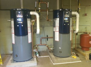Bock OptiTherm Condensing Water Heaters