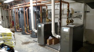 NTI Trinity Condensing Water Heaters and Bock Storage Tanks