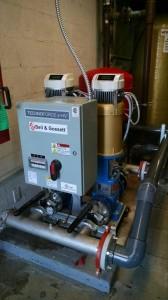B&G e-HV Pressure Booster Package